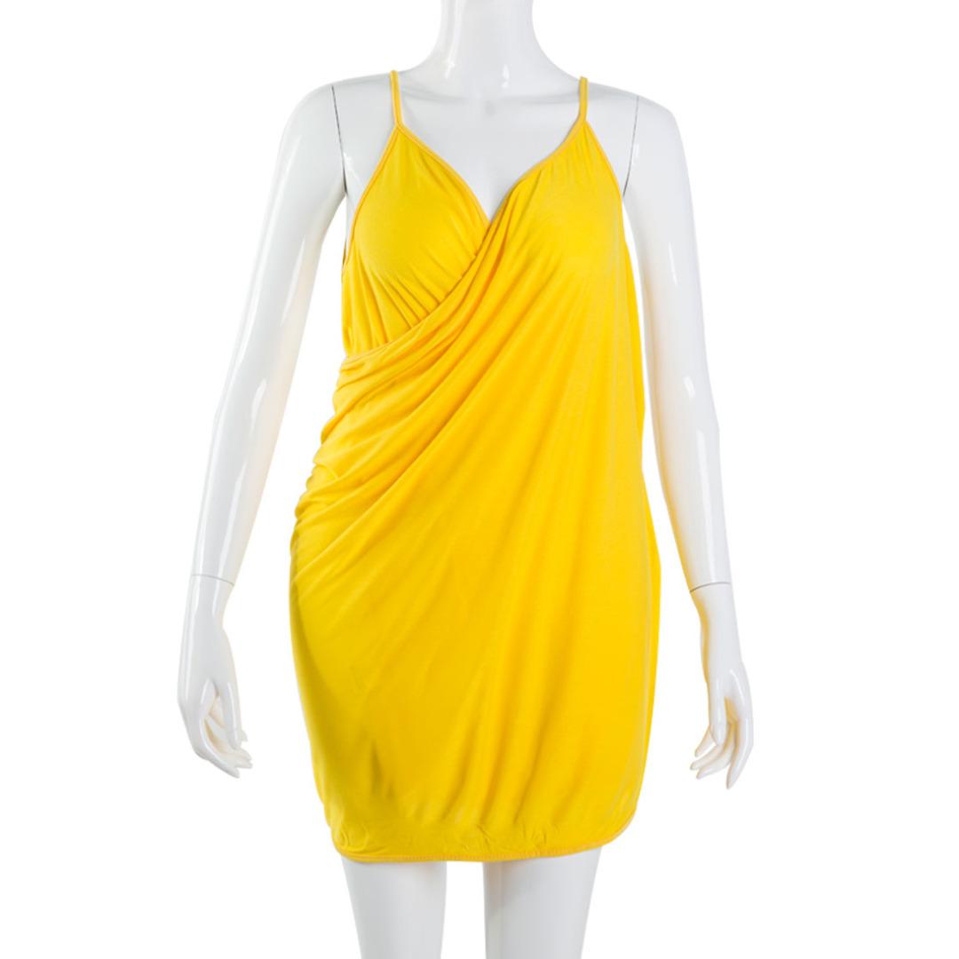 Charming Multipurpose Wearable Bathrobe (Yellow)