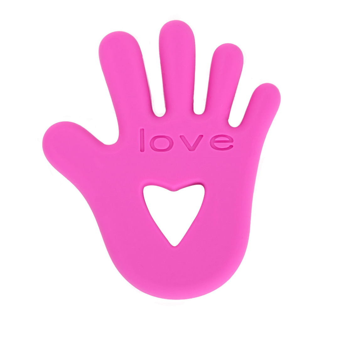 Pink Silicone Hands On Love