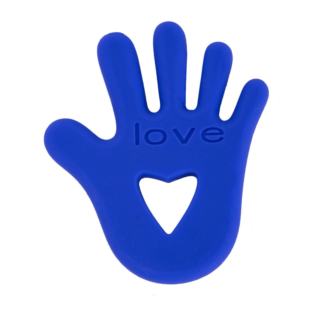 Beautiful In Blue Silicone Hand