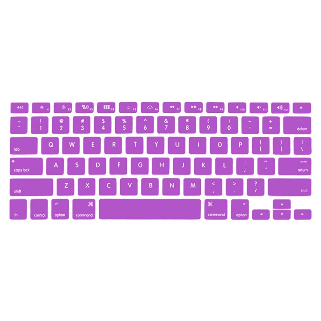 Purple Keyboard Protector for Macbook (13 in)