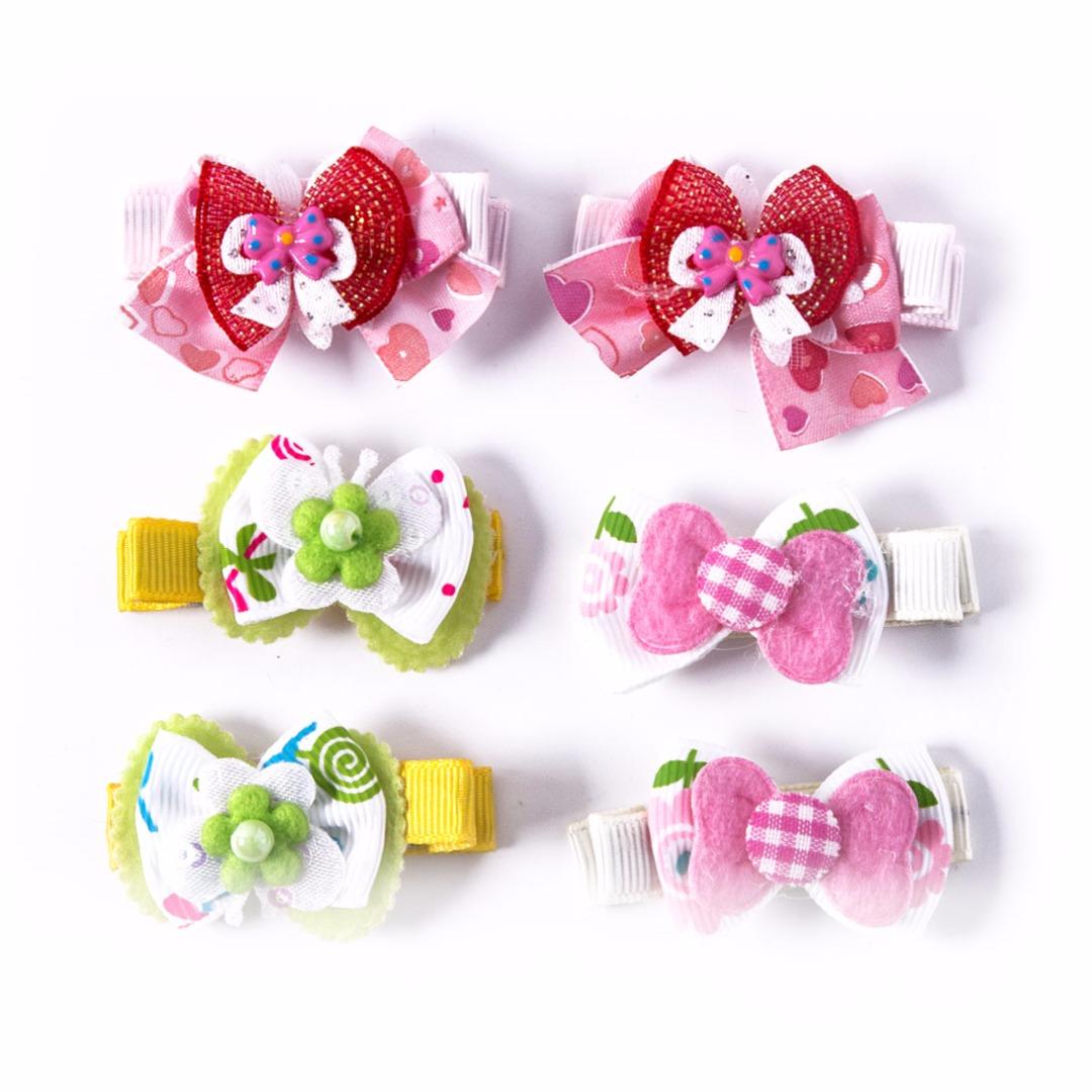 Cute Hair Clips Set (6pc-set)