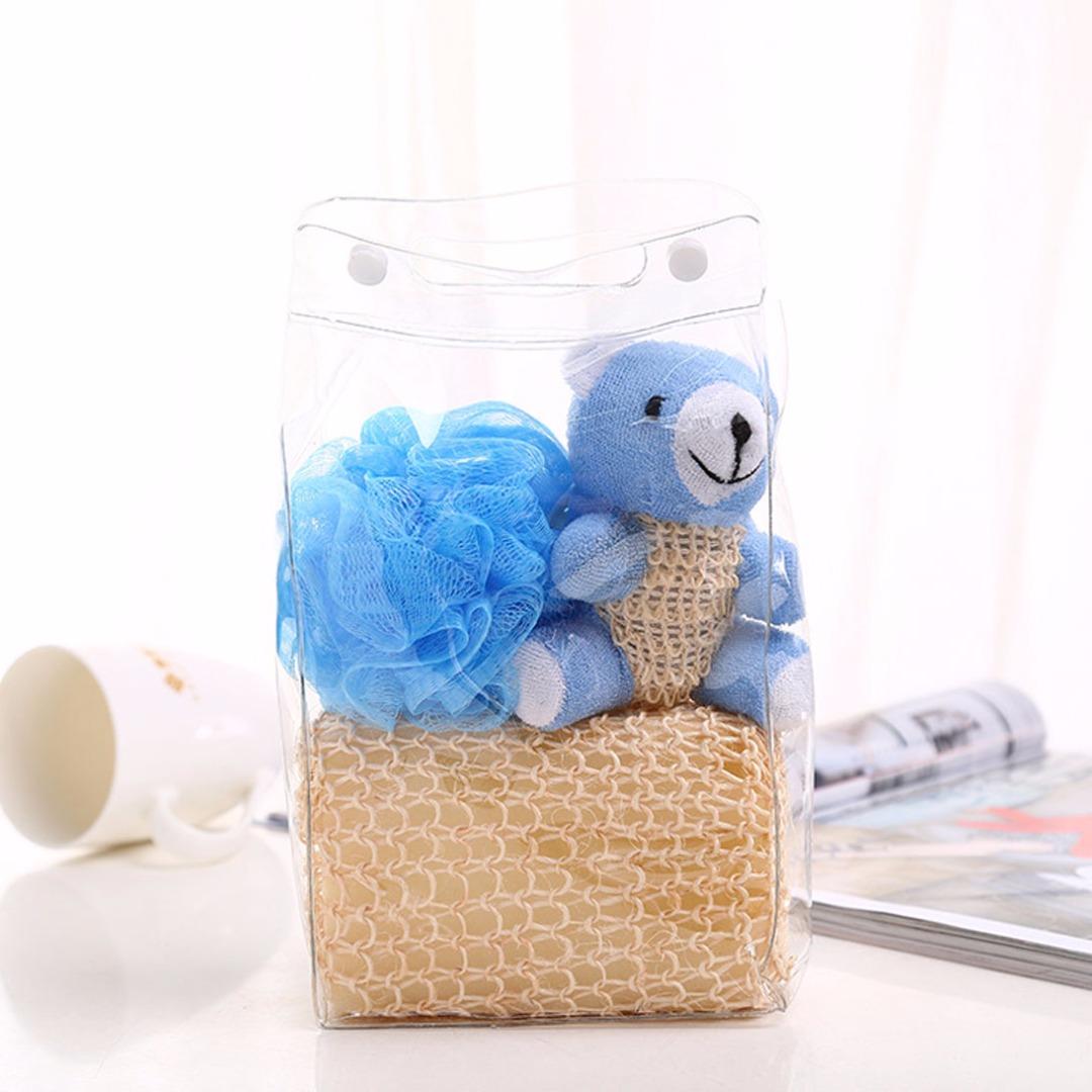 Blue Bear Bath Set (3pc-set)