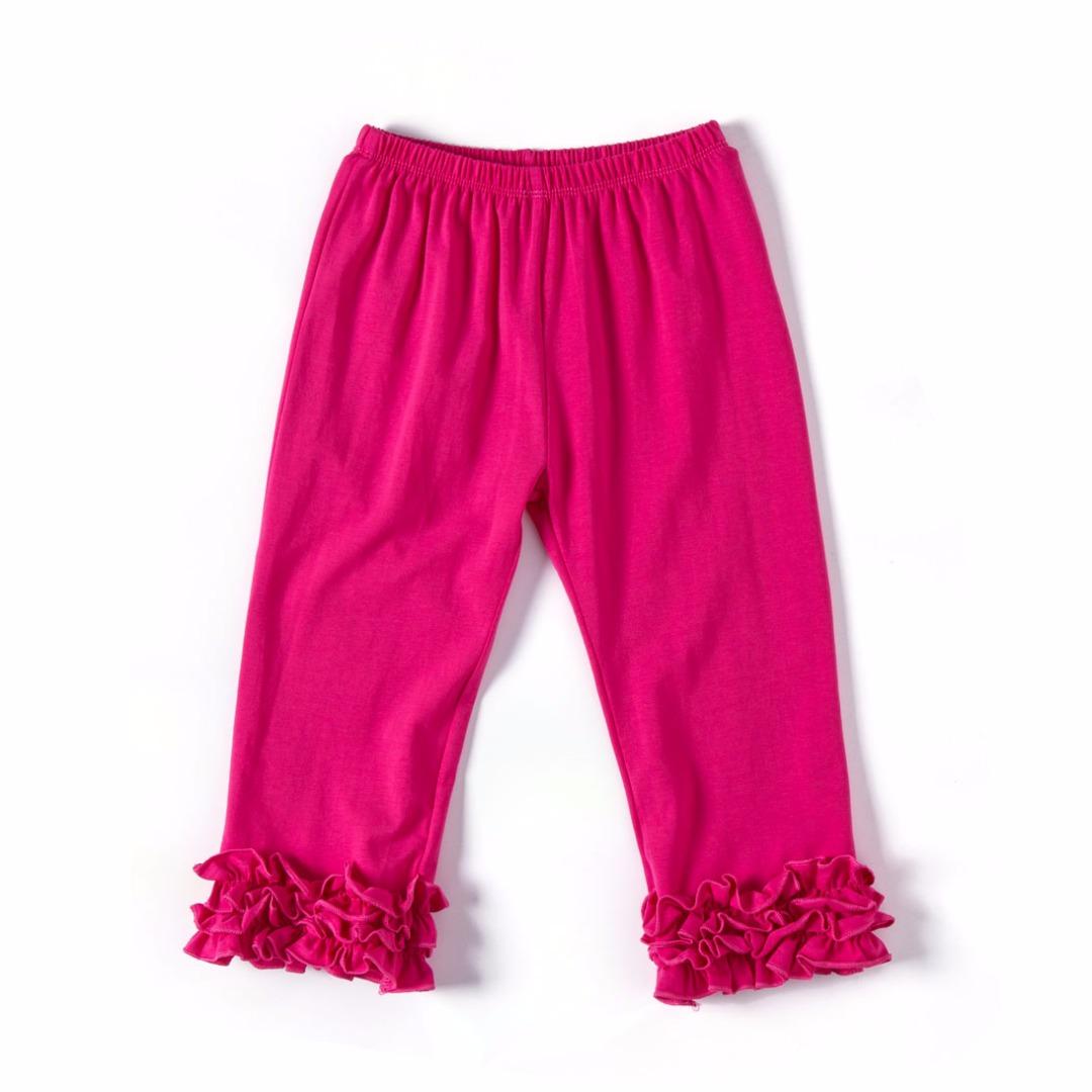 Rose Red Ruffled Pants