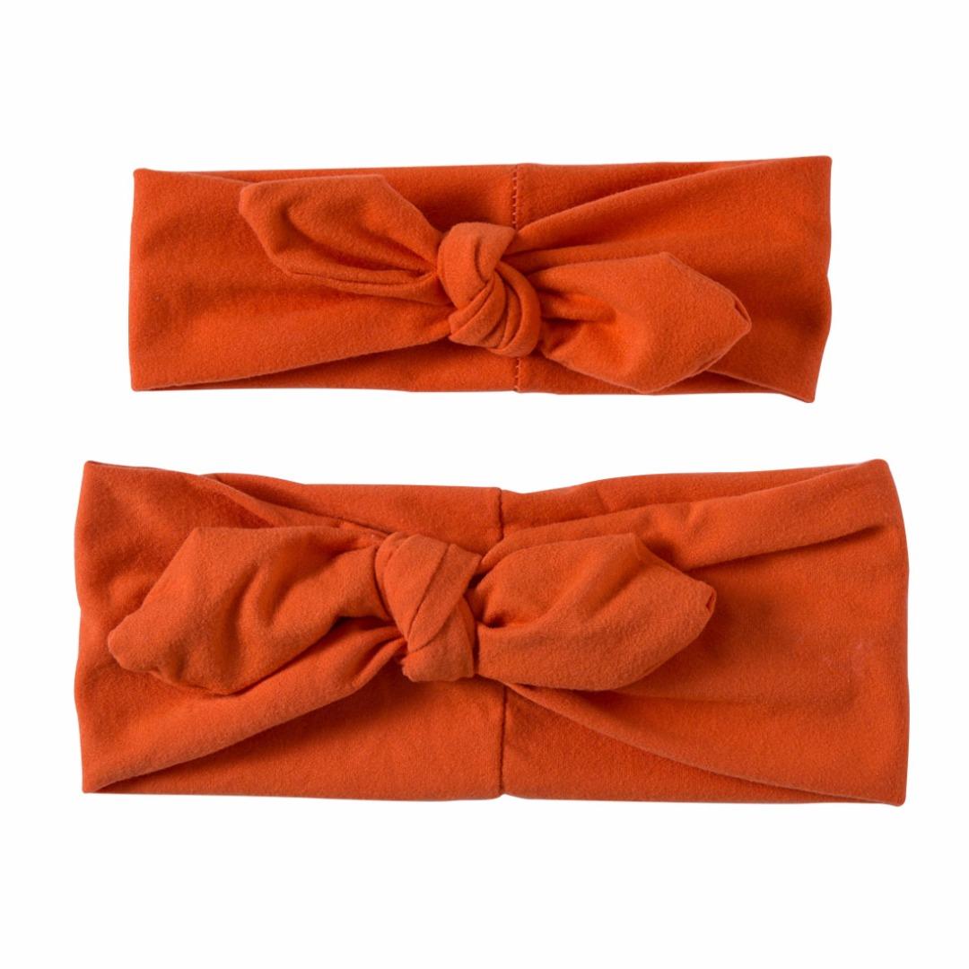 Lovable Matching Headbands in Orange