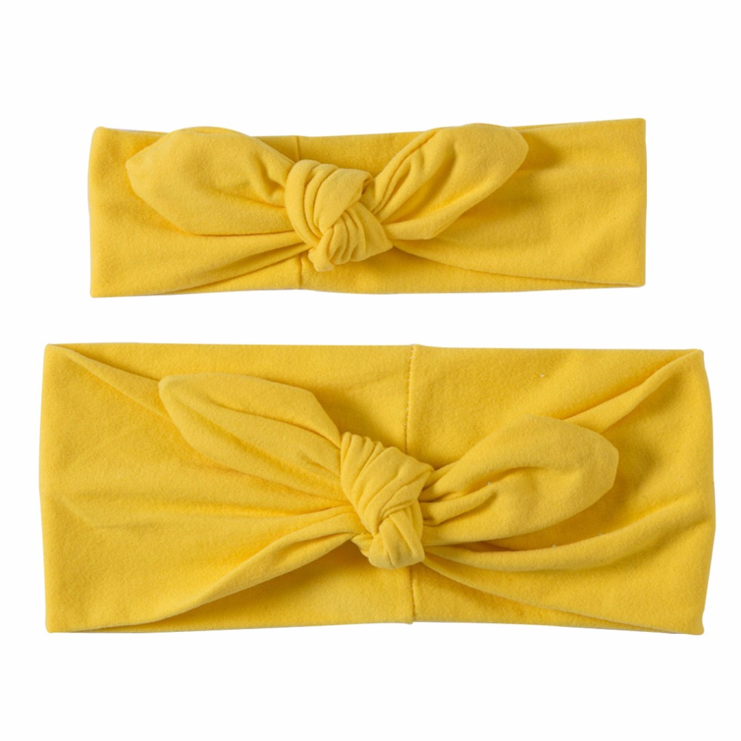 Lovable Matching Headbands in Yellow