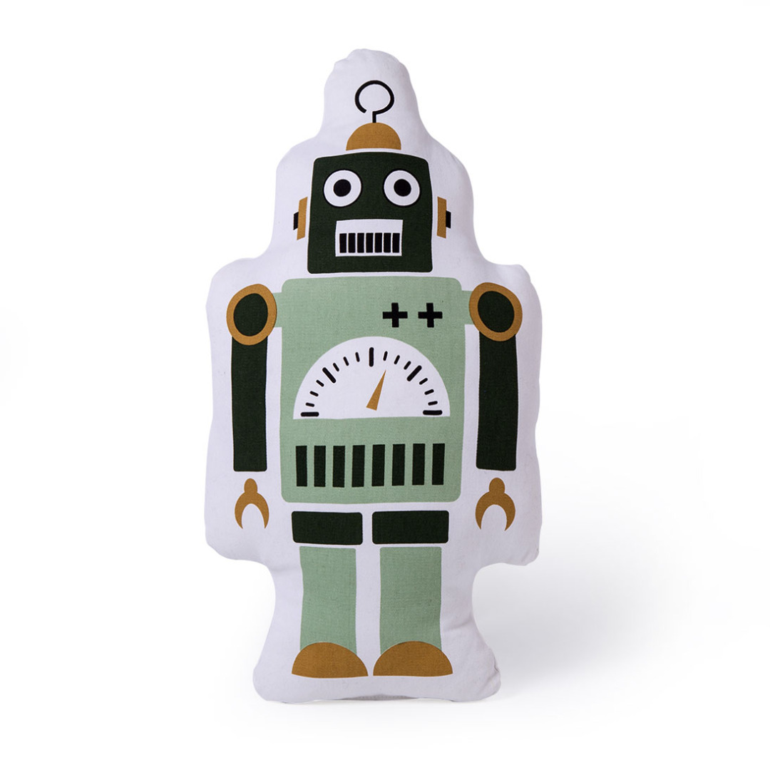 Robot Cushion (Small)