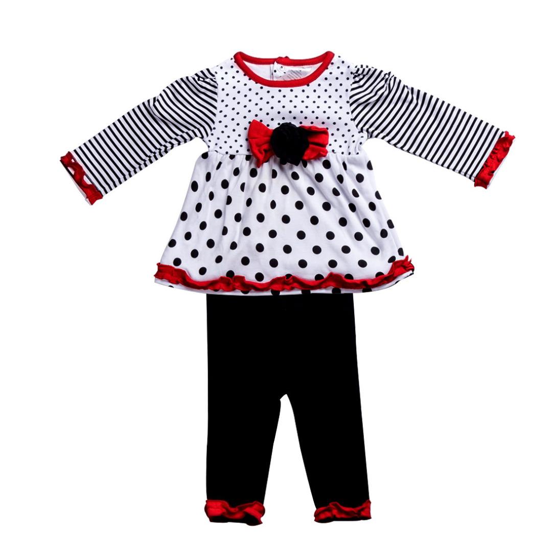 Sweet Polka Dot Outfit (2pc-set)