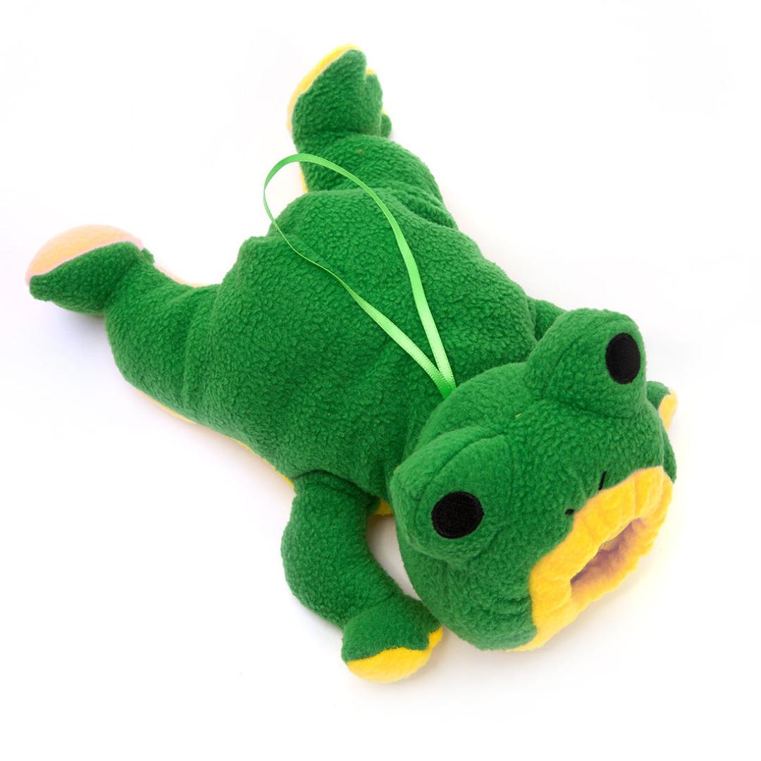 Plush Frog Bottle Cover