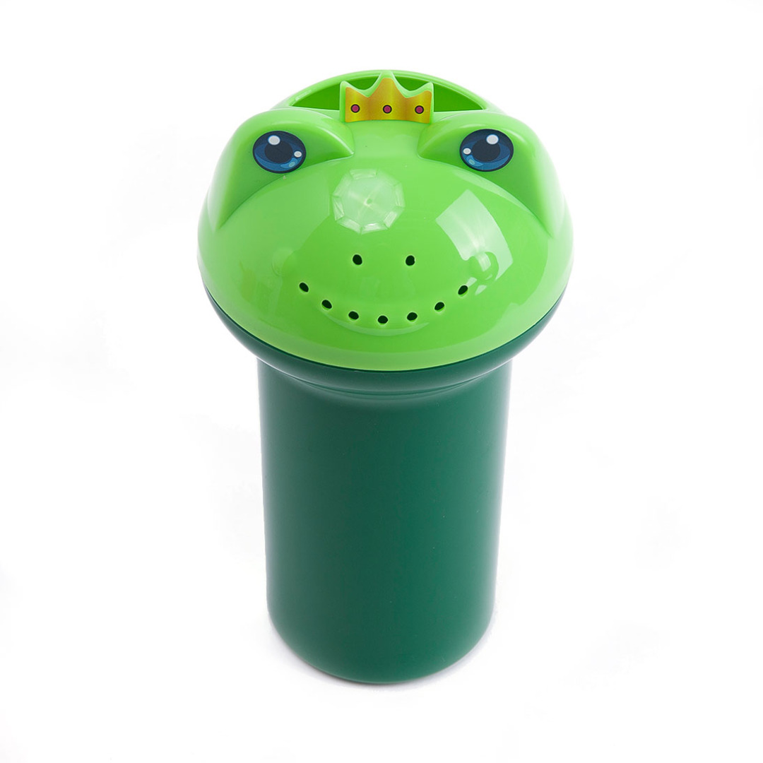 Mini Frog Watering Cup in Green 23591-en-USD