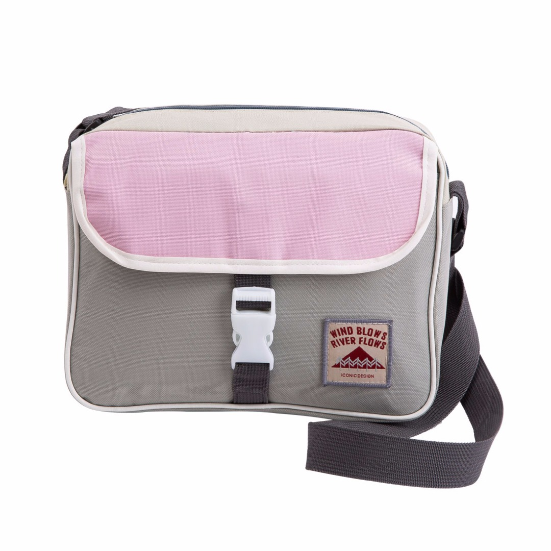 Functional Travel Bag in Light Gray