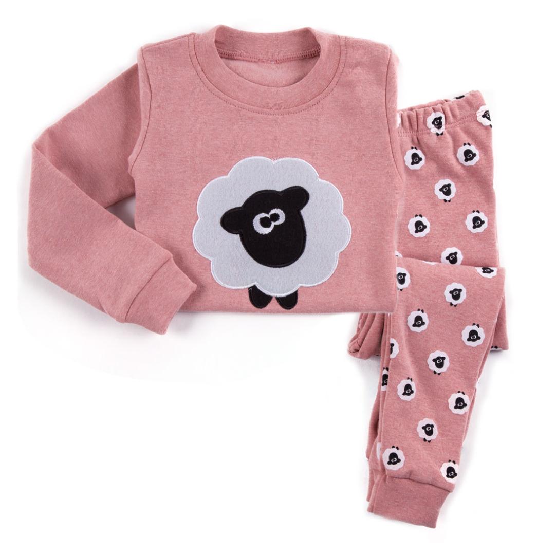 Adorable Lamb Pajamas (2pc-set)
