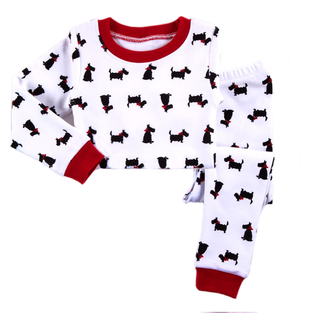 Cute Puppy Pajamas (2pc-set)