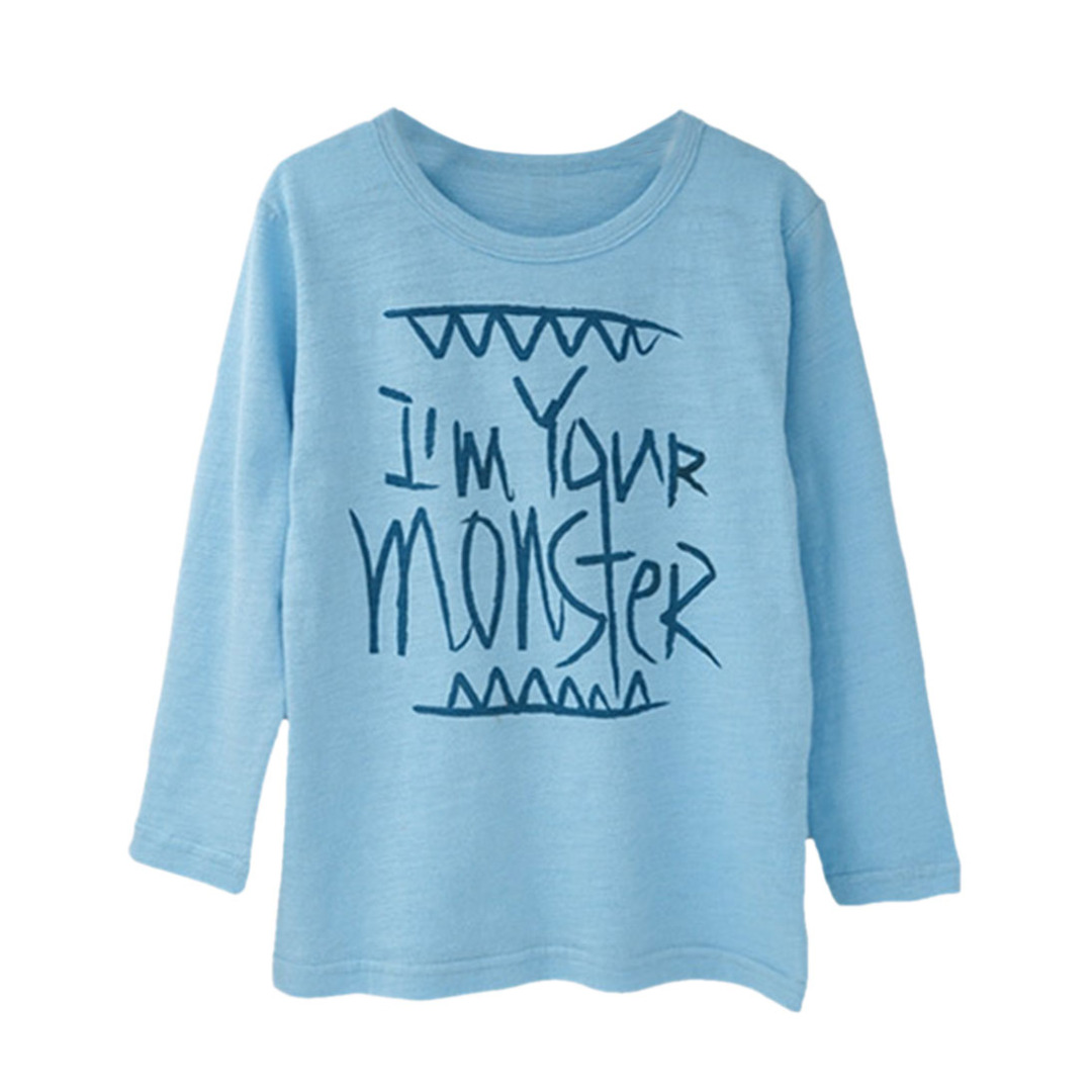 Monster Pullover in Sky Blue