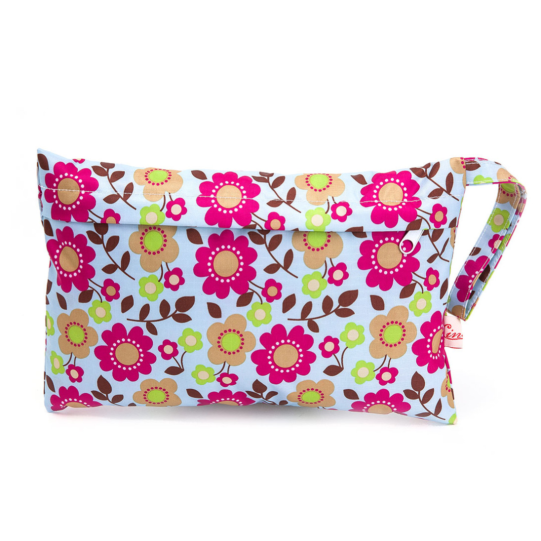 Rich & Colorful Floral Diaper Bag
