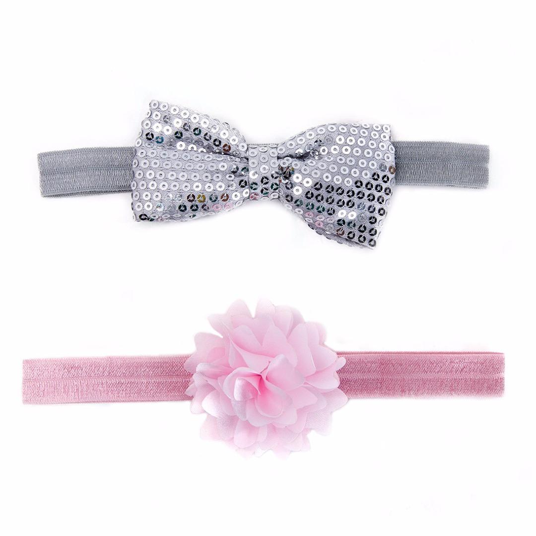 Bow & Flower Headbands (2 pack?