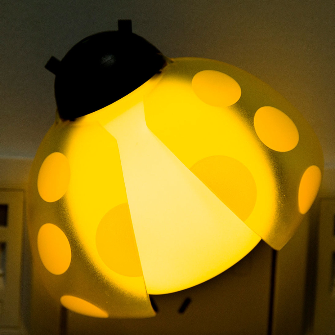 R/C Yellow Ladybug Night Light