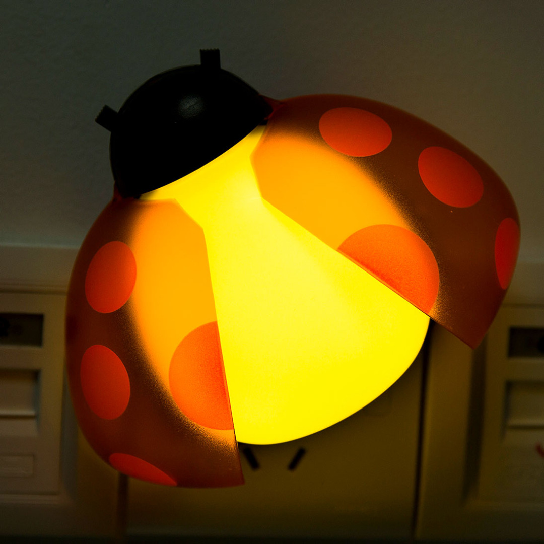 R/C Red Ladybug Night Light
