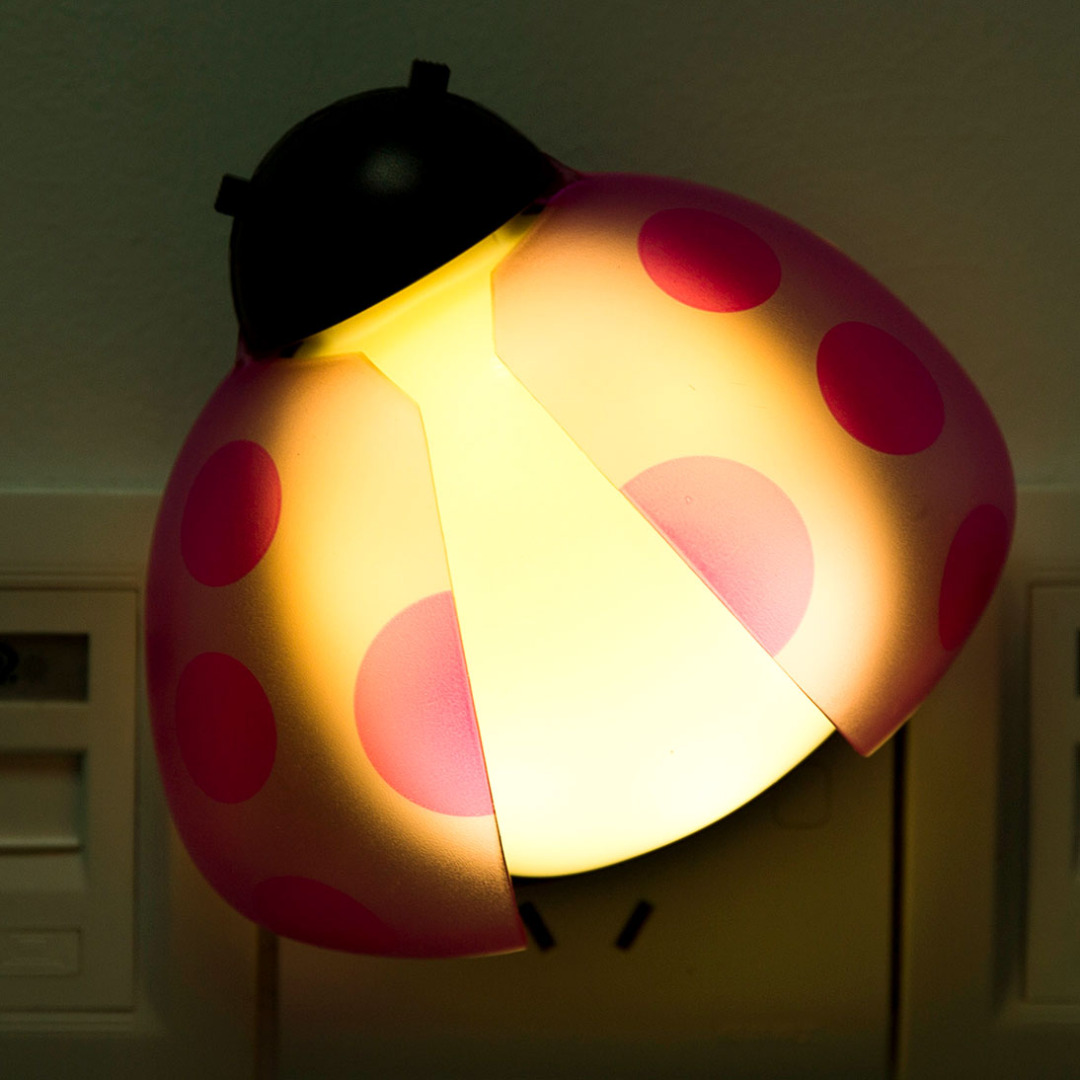 R/C Pink Ladybug Night Light