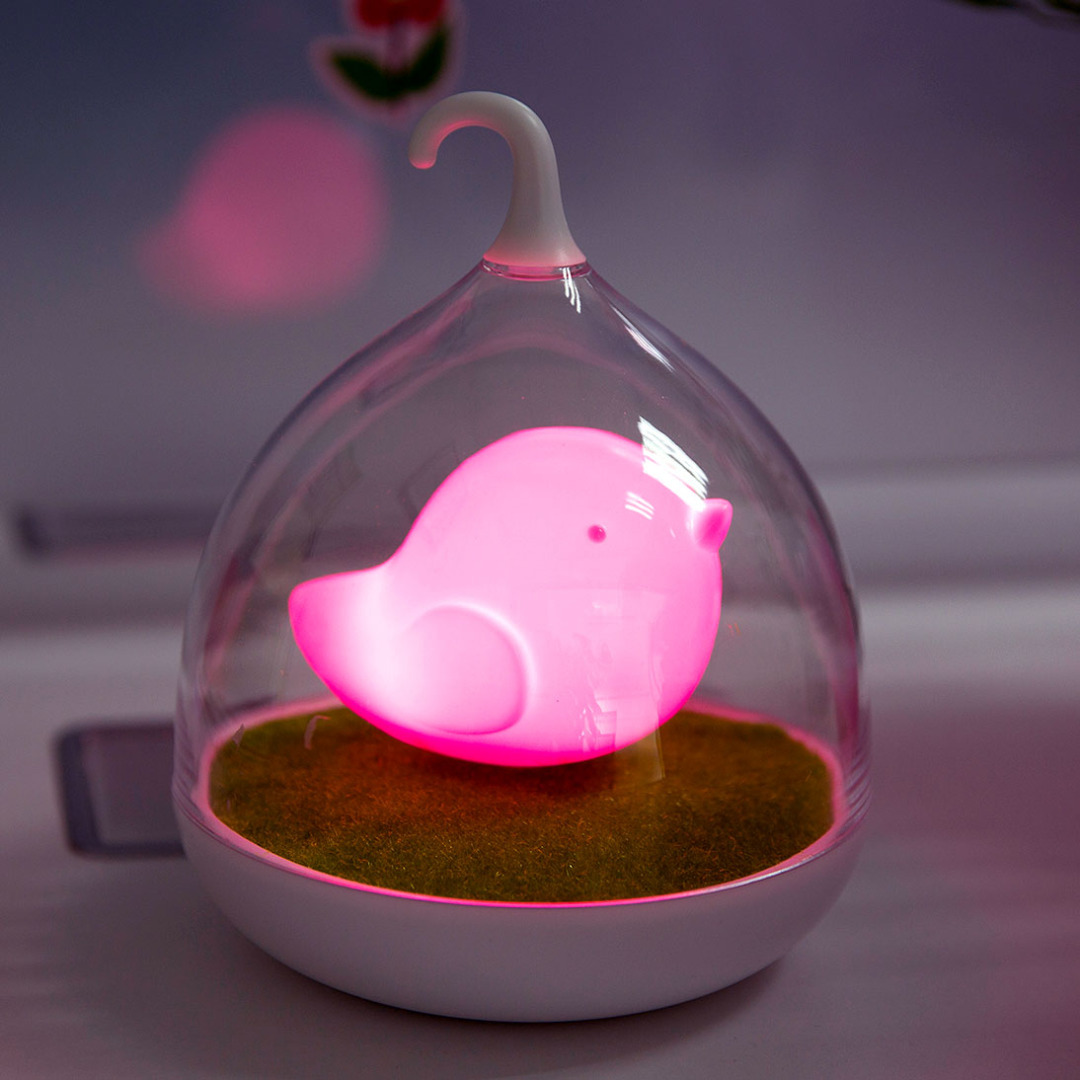 Portable Birdie Lamp