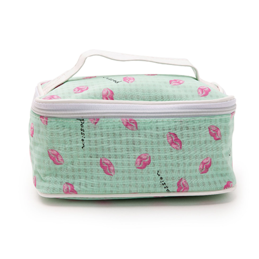 Adorable Green Travel Toiletry Bag