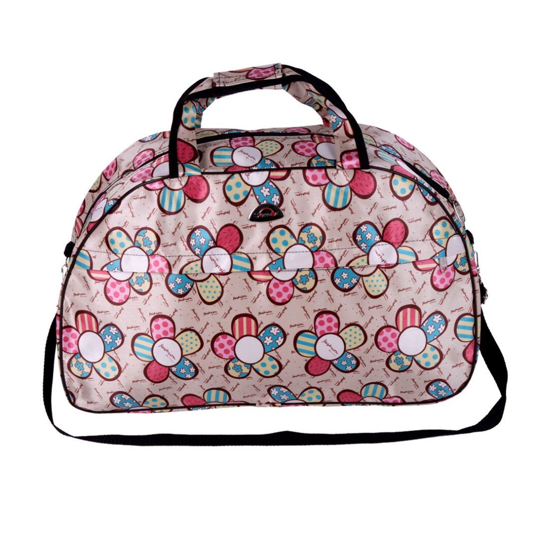 Fly Away in Floral Travel Bag