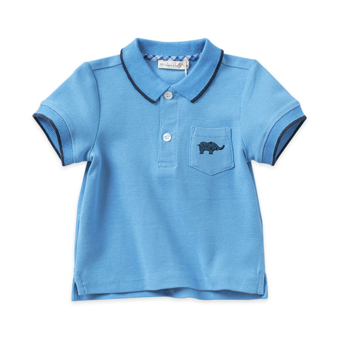 Spring Cotton Polo/Top for Cubs in Blue