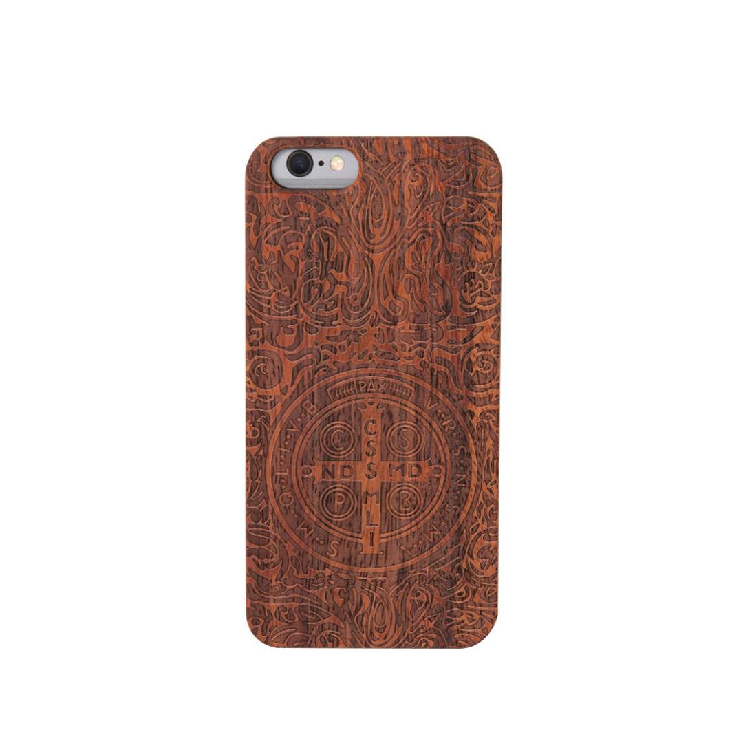 Magic Zone Wooden iPhone Case