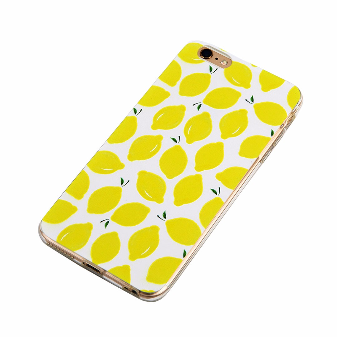 I Love Lemons Soft Case for iPhone 6/6s and iPhone 6 plus/6s plus