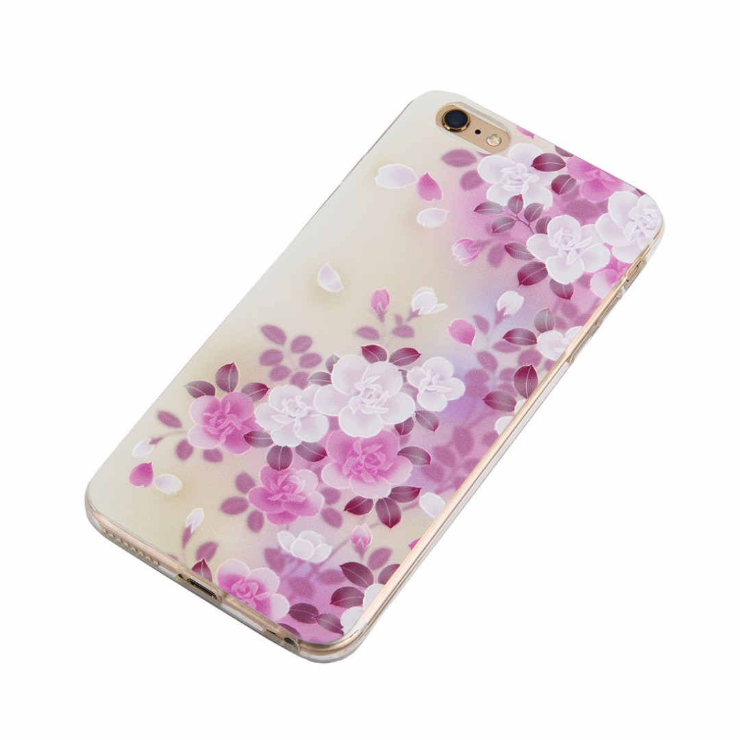 Beautiful Soft Floral Case for iPhone 6/6s and iPhone 6 plus/6s plus