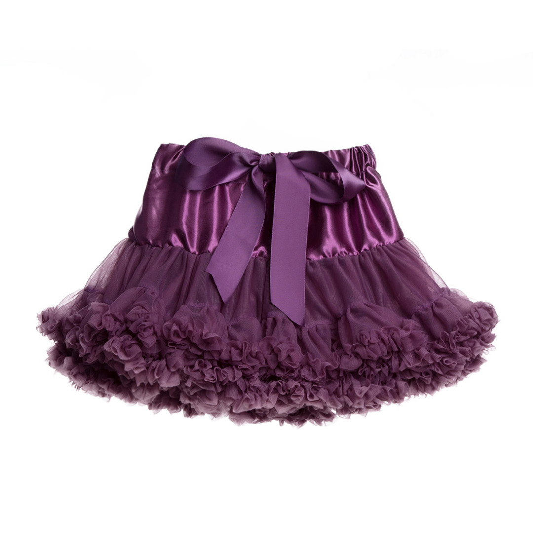 Baby Girl/Girl's Elegant Princess Styled Gauze Tutu Skirt in Purple