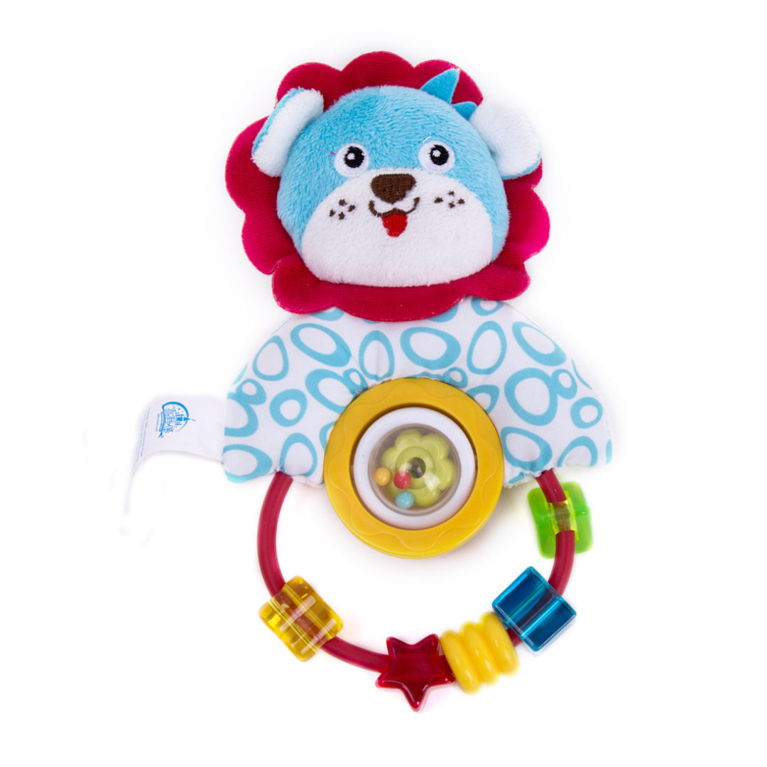 Boppin' Beaded Lion Rattle
