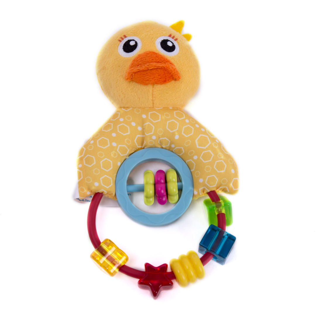 Boppin Beaded Duck Rattle