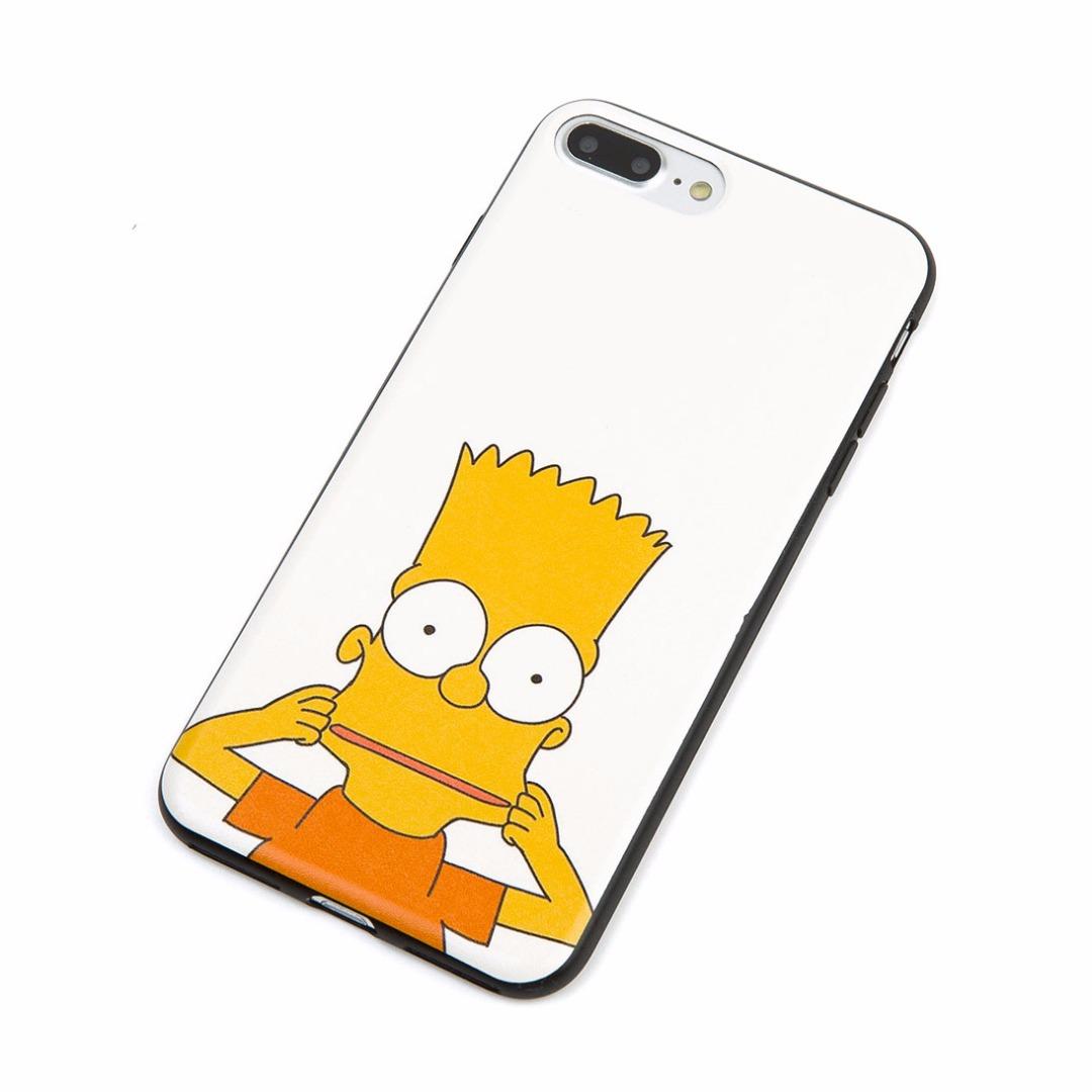 Super Cute Smiley Bart Simpson Case for iPhone 7 Plus