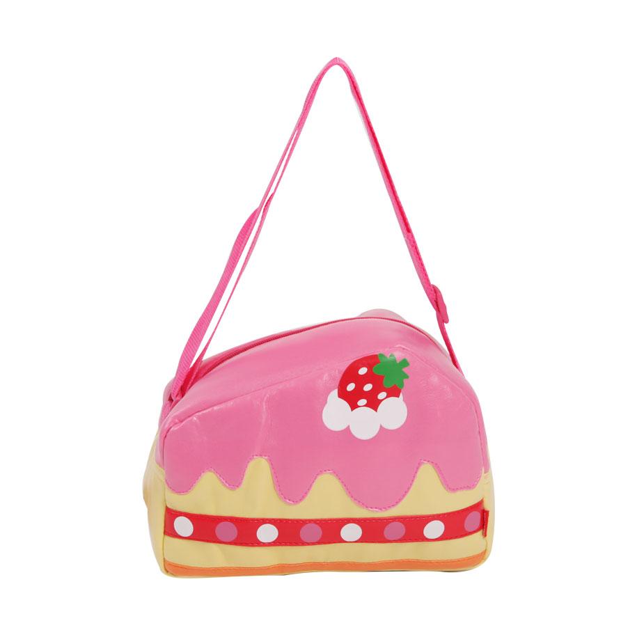 Sweet Strawberry Cake Messenger Bag for Kids