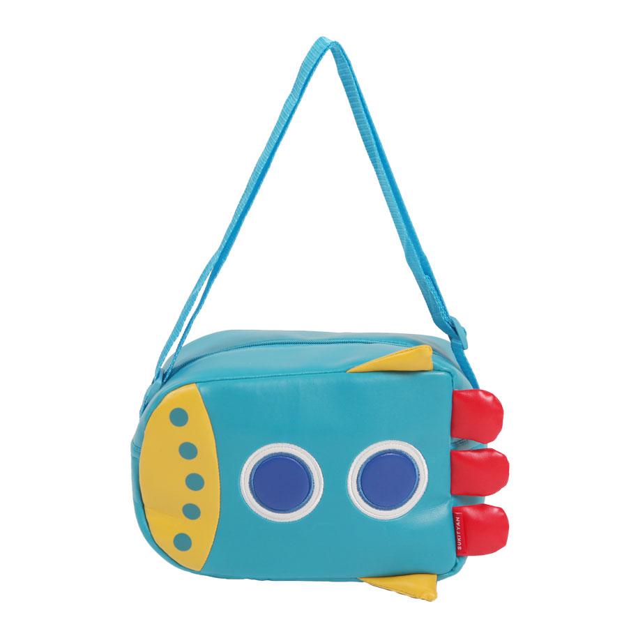 Blast Off! Rocketship Messenger Bag for Kids