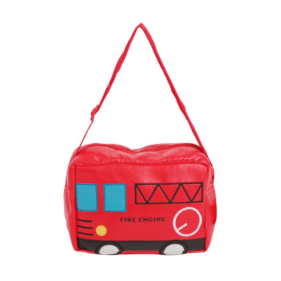 Fire Engine Messenger Bag for Kids
