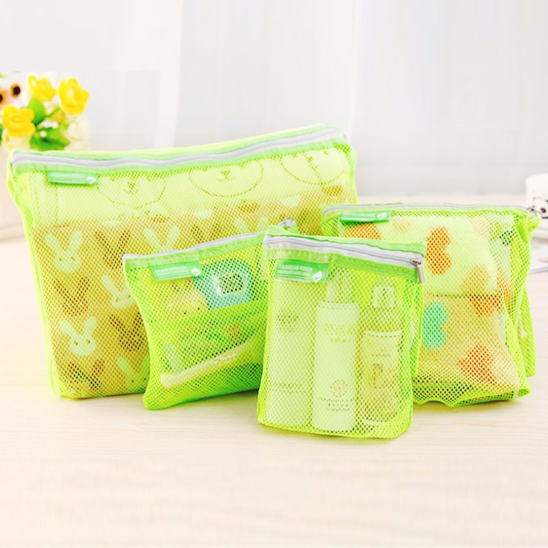 Green Travel Storage Bags (4 pack)