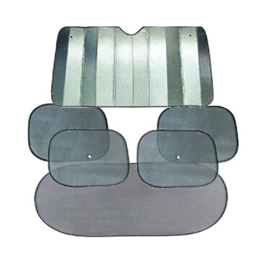 Aluminum Foil UV & Sun Resistant Car Shades (6pc-set) 8949-en-USD