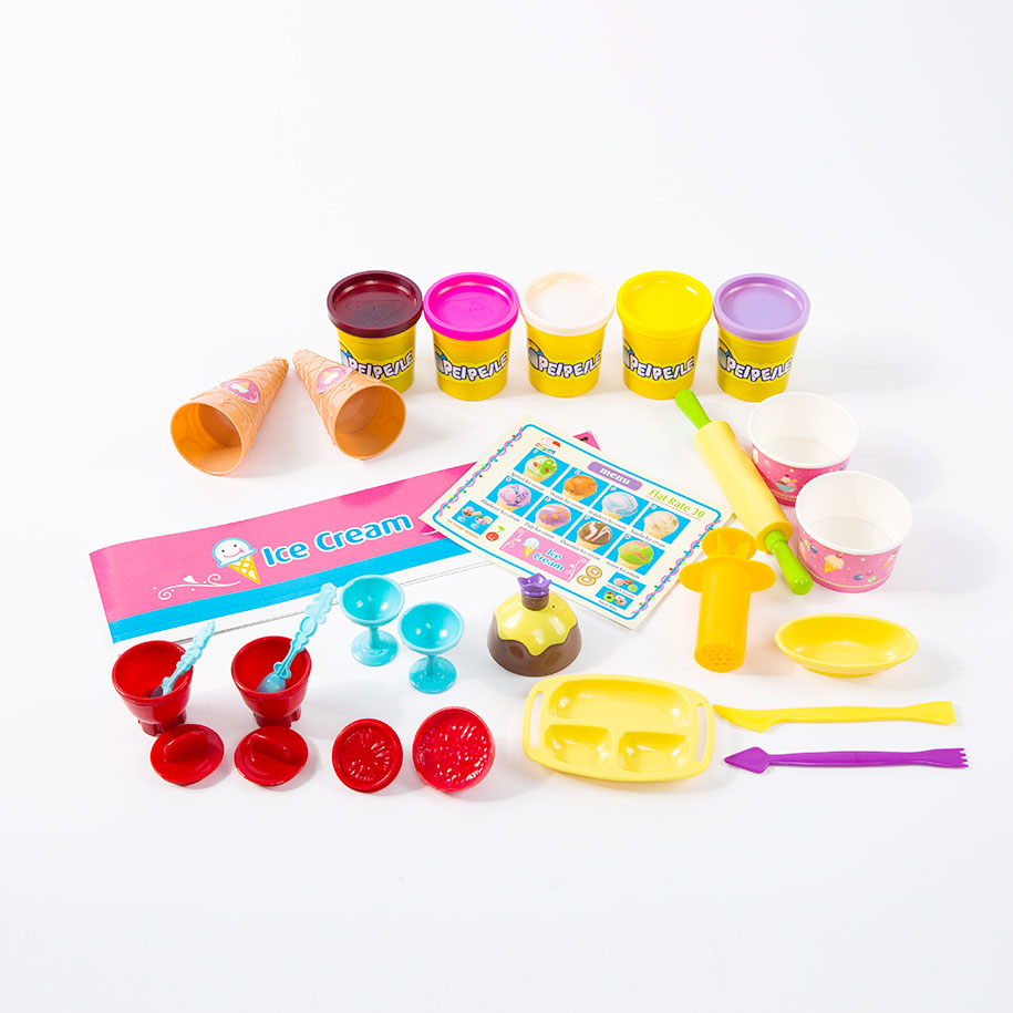 Ice Cream Shop Play Dough Set (28pc-set) 287-en-USD