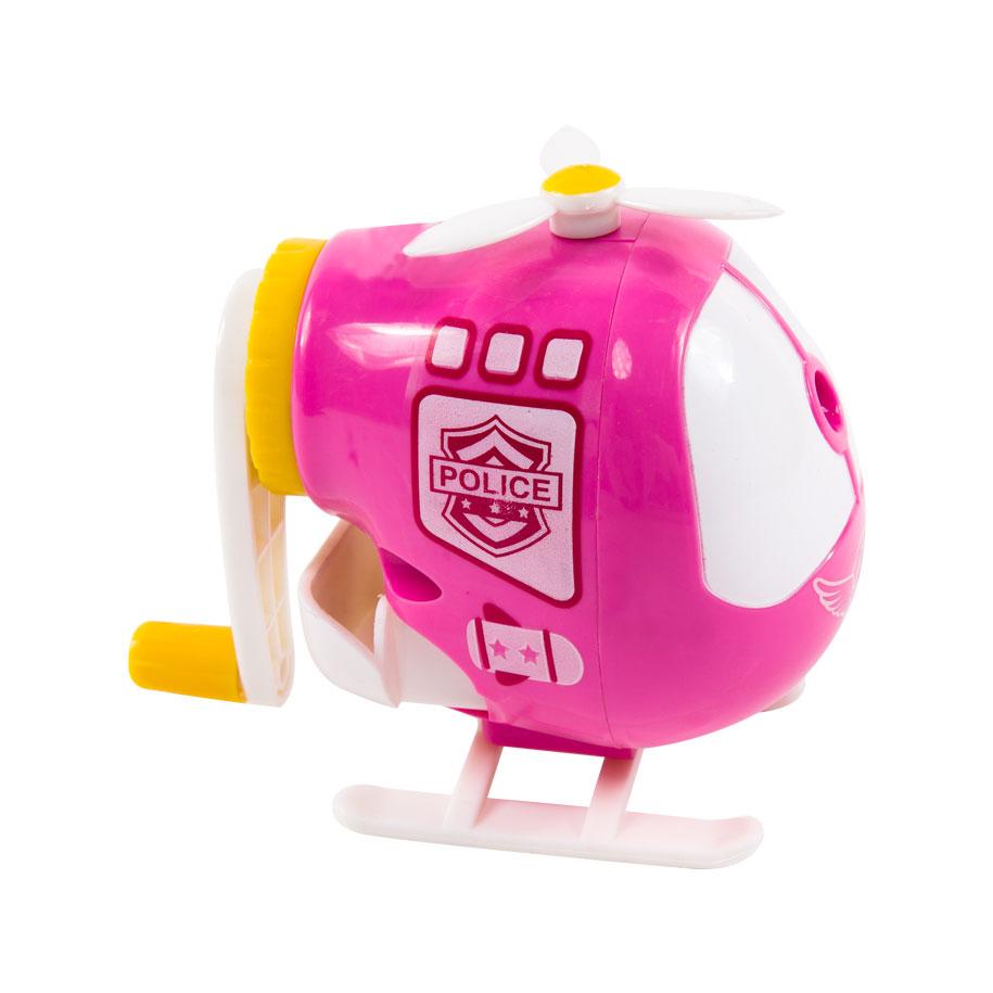 Pink Helicopter Pencil Sharpener