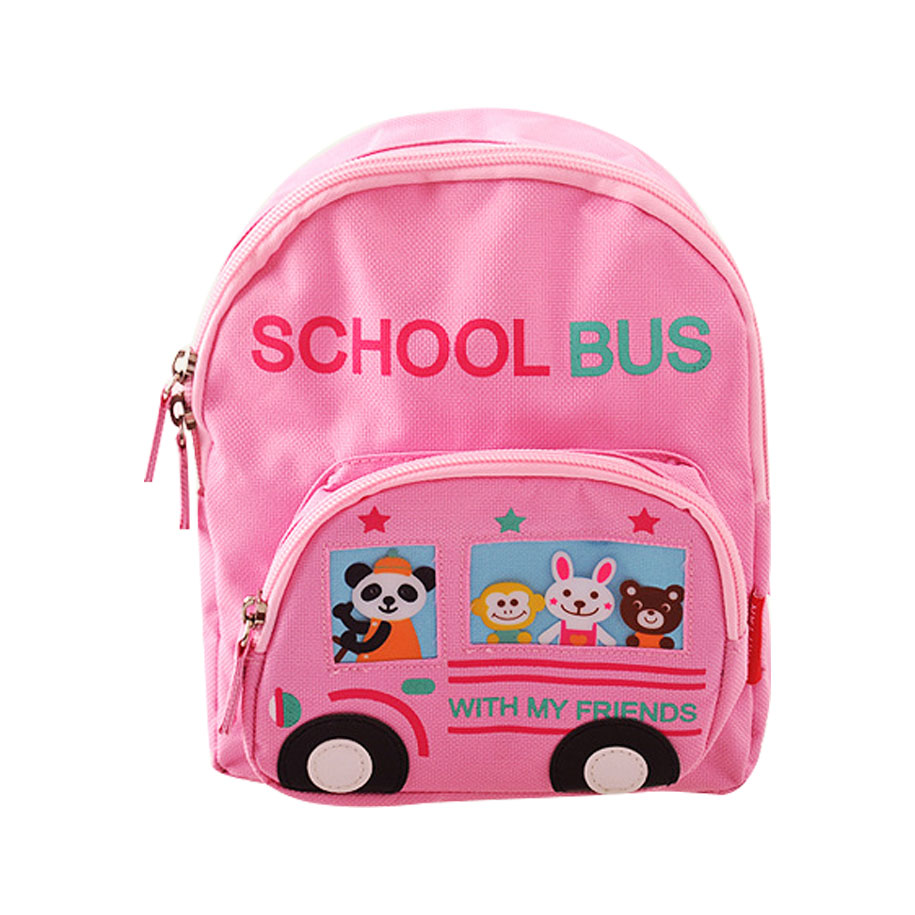 Image For Pink Animal Junior Backpack