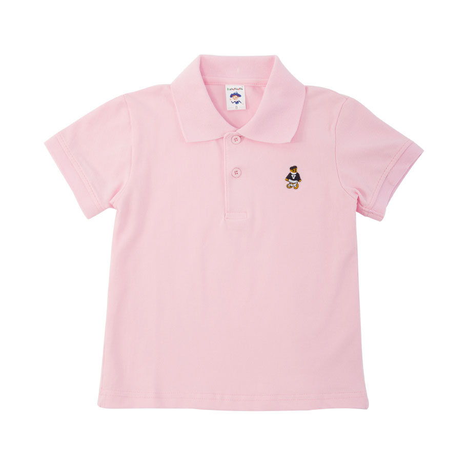 Trendy Pink Polo Shirt