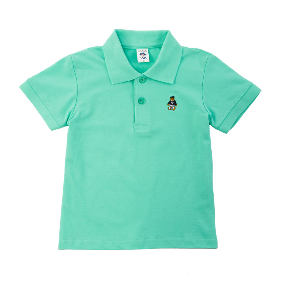 Vibrant Light Green Polo Shirt