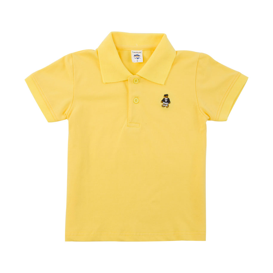 Cute Yellow Polo Shirt