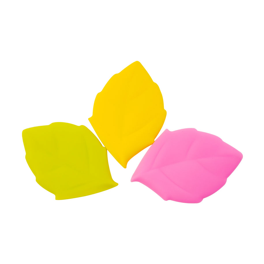 Lovely Blossoming Leaf Silicone Cups (3 pack)