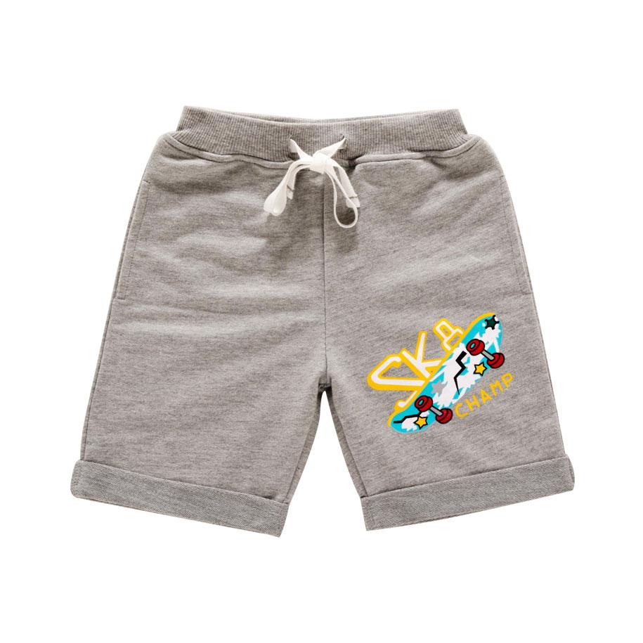 Gray Skater Dude Shorts