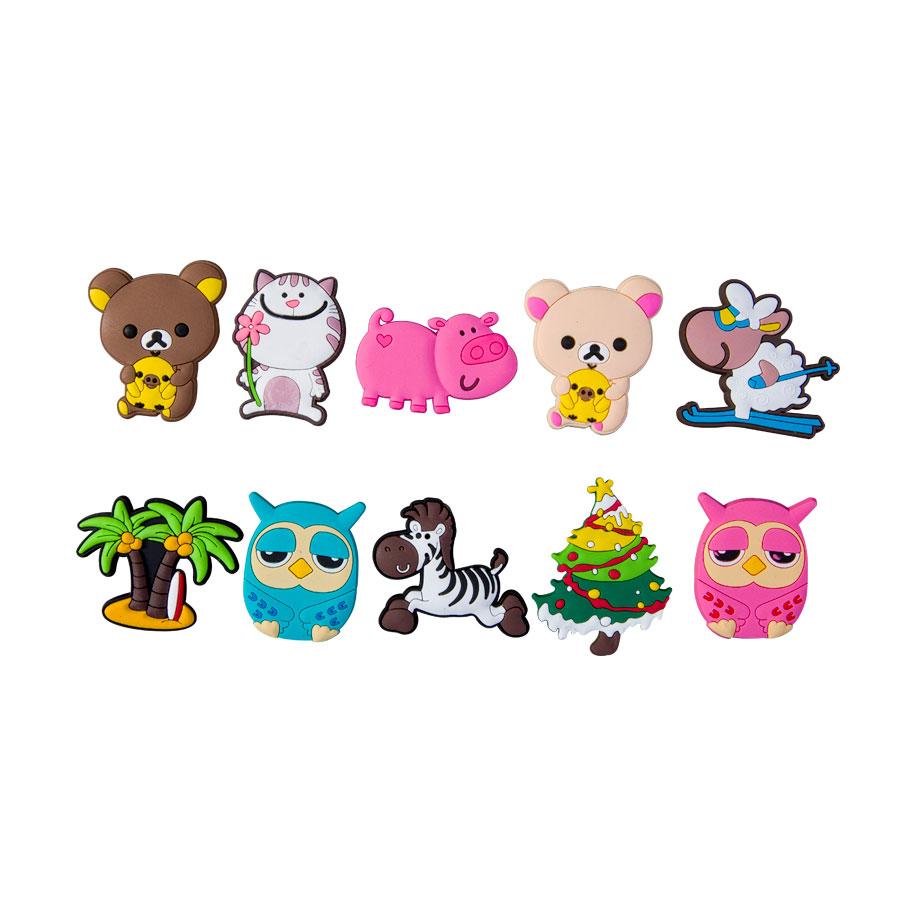 Animal Fridge Magnets (10 pack)