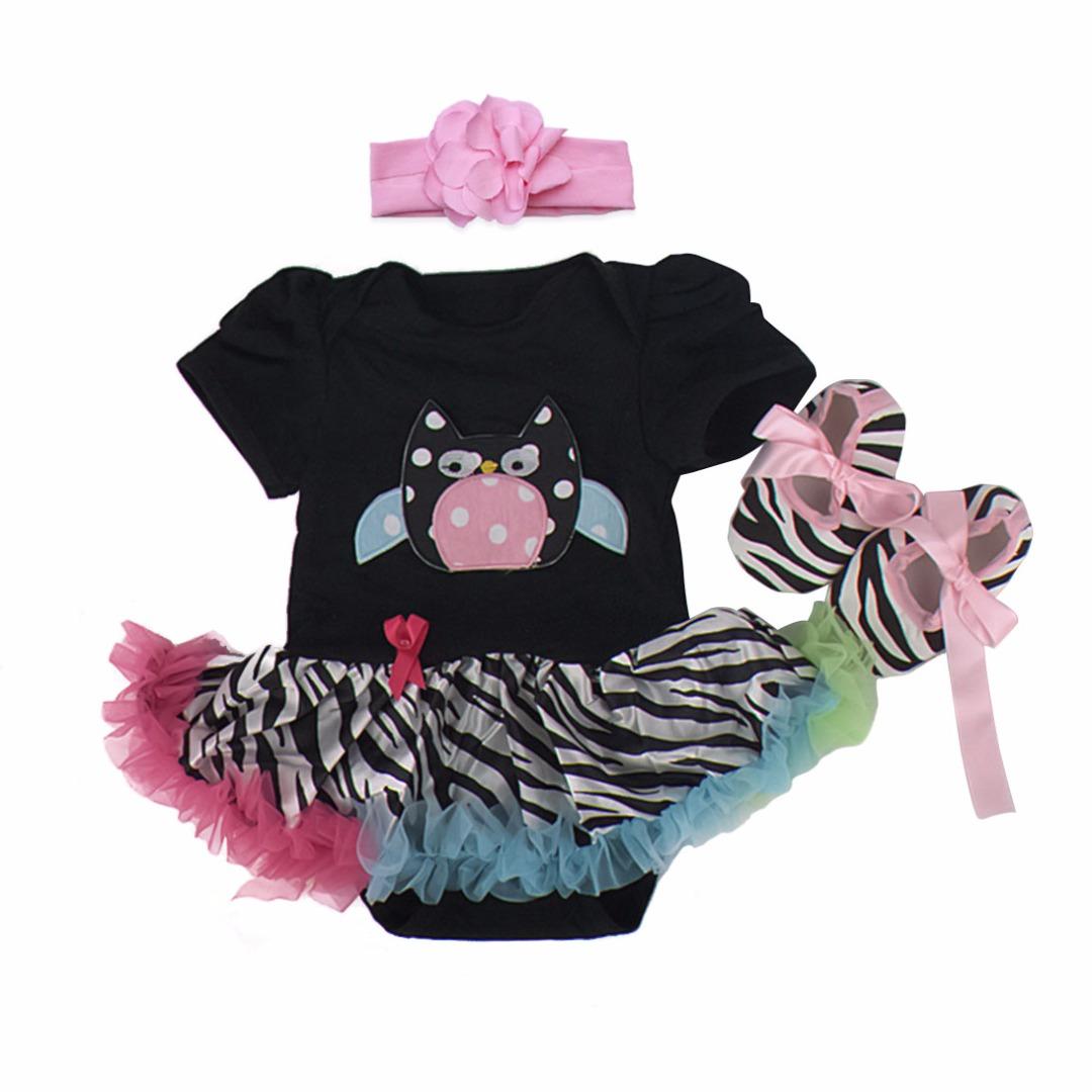 Zany Owl Tutu Outfit (3pc-set)