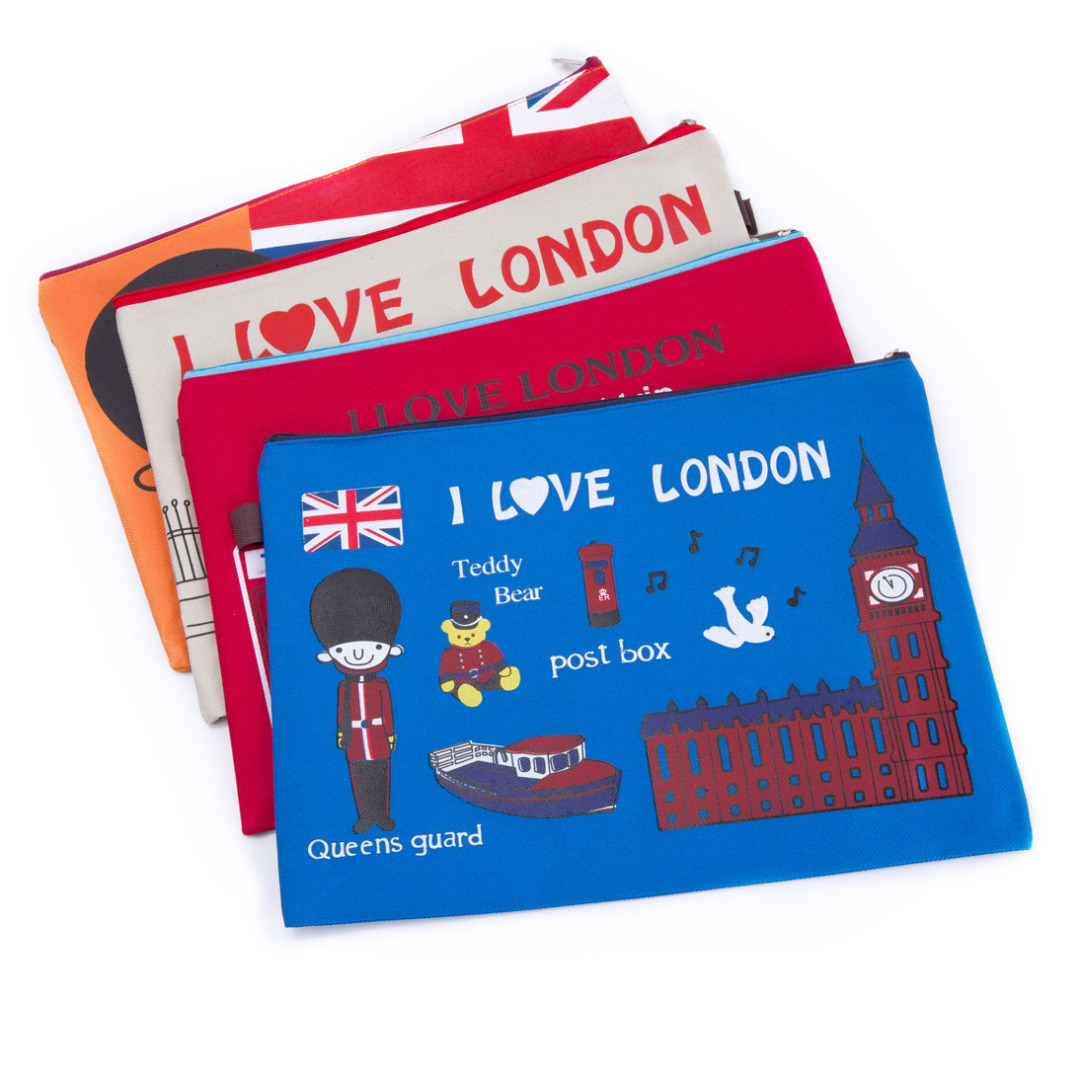 London Storage Pouches (4 pack)
